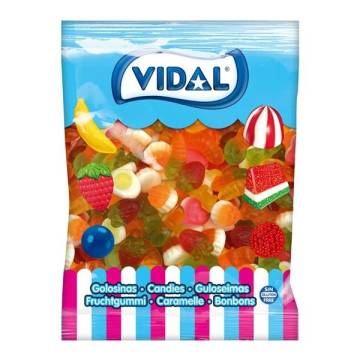 COCKTAIL MIX VIDAL BAG 1Kg CANDIES WITHOUT SUGAR COATING