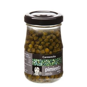 GREEN PEPPERCORNS 100G CARMENCITA