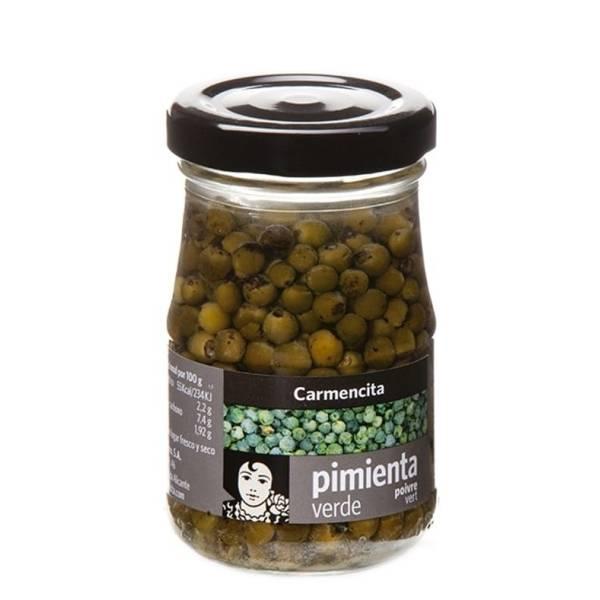 Pimienta verde en grano CARMENCITA 100g.