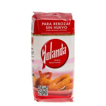 BATTER FLOUR WITHOUT EGG 500G YOLANDA