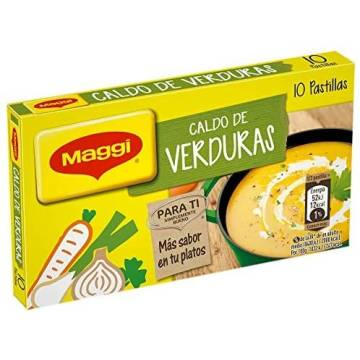 VEGETABLE BOUILLON 10 CUBES MAGGI