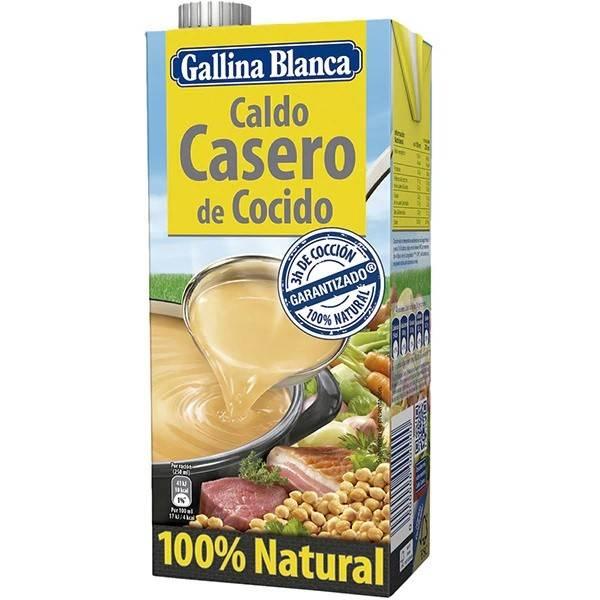 Caldo casero de cocido GALLINA BLANCA 1l.