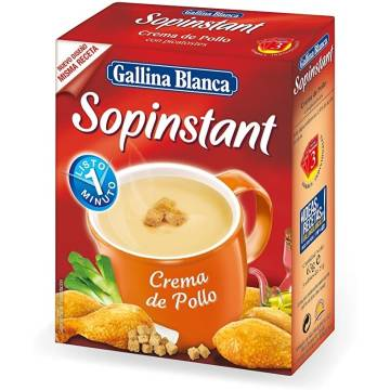 SOPINSTANT CHICKEN CREAM GALLINA BLANCA