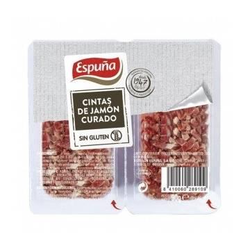 Cubes de jambon curado ESPUÑA 90g.