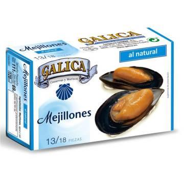 """MEJILLONES DE GALICIA NATURAL 13/18 """"GALICA"""""""