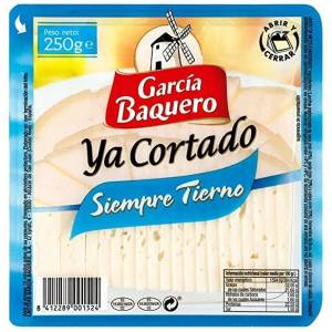 Geschnittener Siempre Tierno Käse GARCIA BAQUERO 250g.