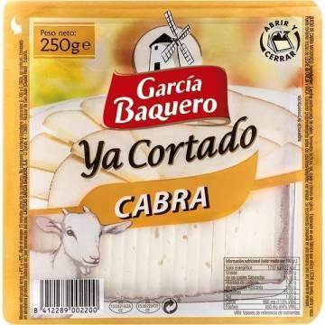 """SLICED GOAT CHEESE 250G """"GARCIA BAQUERO"""""""