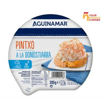PINTXO A LO DONOSTIARRA 200g AGUINAMAR