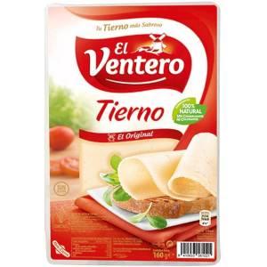 Queso tierno en lonchas EL VENTERO 160g.