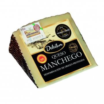 MANCHEGO SHEEP CHEESE 250G DELEITUM