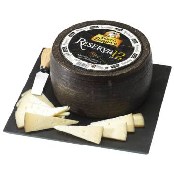 WHOLE 12-MONTHS CURED CHEESE APPROX. 3KG GARCIA BAQUERO