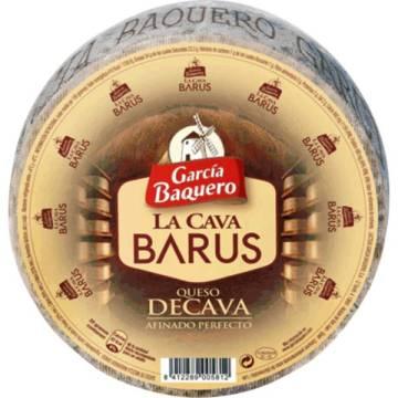 QUESO CURADO LA CAVA BARUS 2,2KG APROX. GARCIA BAQUERO