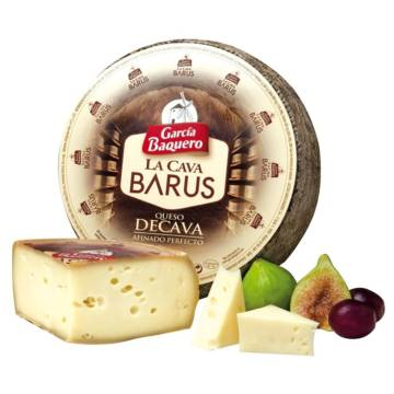HALF LA CAVA BARUS CURED CHEESE APPROX. 1 KG GARCIA BAQUERO