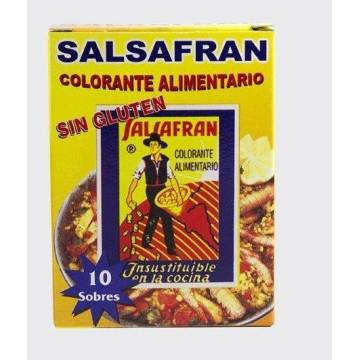 COLORANT ALIMENTAIRE SACHETS  SALSAFRAN