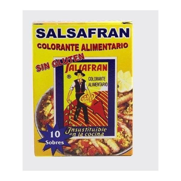 COLORANT ALIMENTAIRE SACHETS  SALSAFRAN