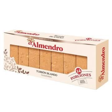 TURRON DURO EL ALMENDRO (16 PORCIONES) 400 G.