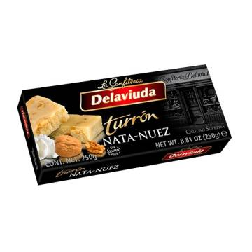 WALNUT-CREAM NOUGAT 250G DELAVIUDA