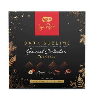 BOMBÓN SURTIDO DARK SUBLIME (OURMET COLLECTION) NESTLÉ 114G.