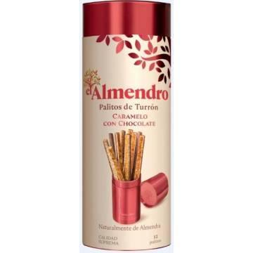 CHOCOLATE CARAMEL NOUGAT STICKS EL ALMENDRO