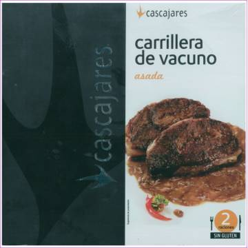 CARRILLERA DE VACUNO ASADA 750G CASCAJARES