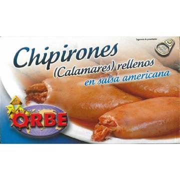 CHIPIRONES EN SALSA AMERICANA