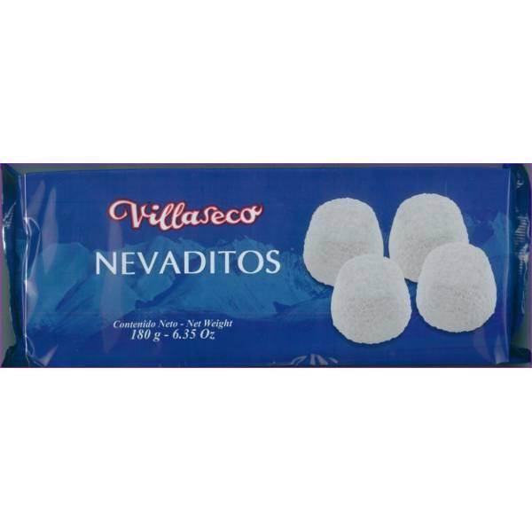 """NEVADITOS DE HOJALDRE CON AZÚCAR GLAS """"VILLASECO"""" (180 G)"""