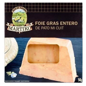 FOIE GRAS ENTERO DE PATO MI CUIT (MARTIKO) 50 gr.