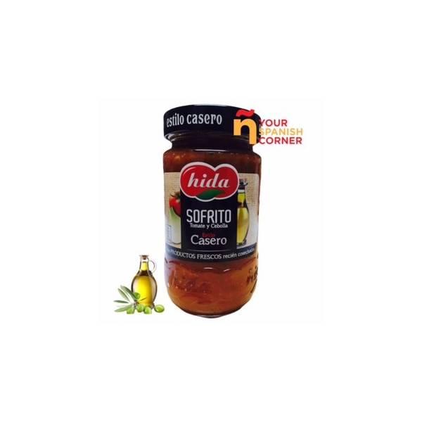 Sofrito de tomate y cebolla HIDA 350g.