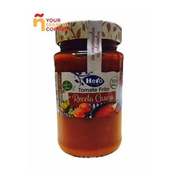Sauce de tomate à l'huile d'olive HERO 370g.