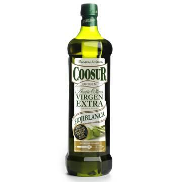 EXTRA VIRGIN OLIVE OIL HOJIBLANCA 1L COOSUR