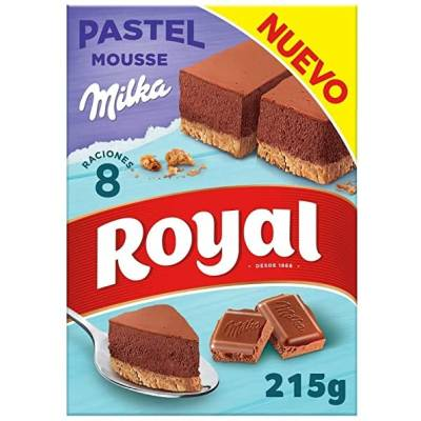 PASTEL MOUSSE CHOCOLATE MILKA