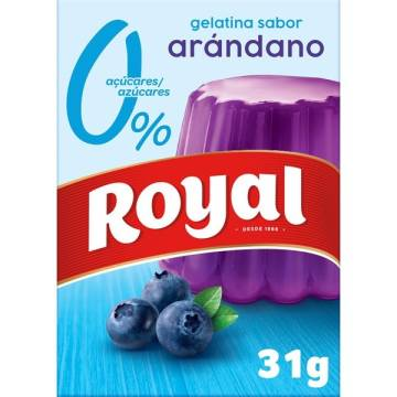 BLUEBERRY JELLY 0% SUGAR 31G ROYAL