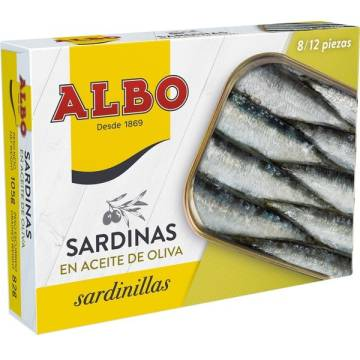 "SARDINES IN OLIVE OIL ""ALBO"""