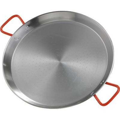 Stahl polierte Paella Pfanne 38 cms (8 Pers.)