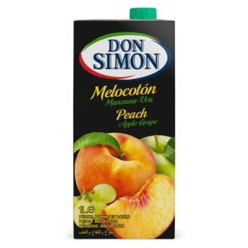 "PEACH, APPLE AND GRAPE JUICE  1L ""DON SIMON"""