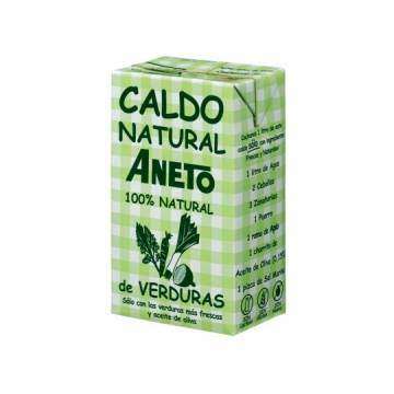 NATURAL VEGETABLE BROTH 1L ANETO