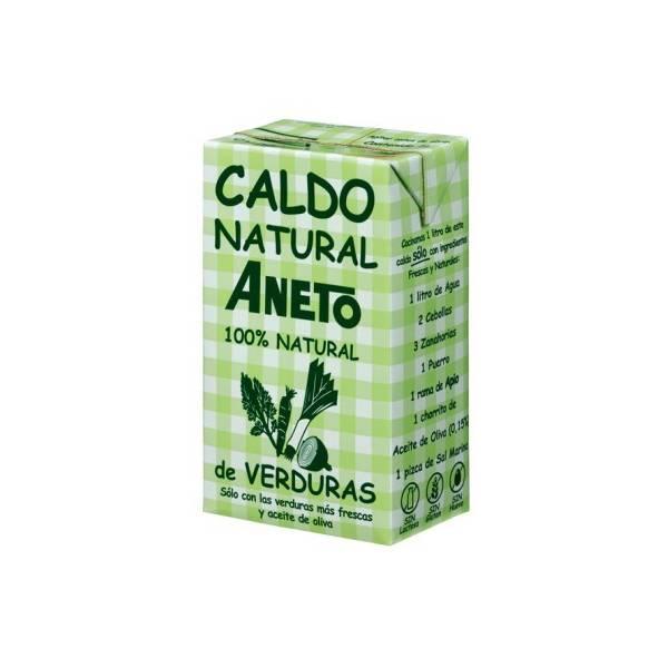 Natürliche Gemüsebrühe ANETO 1l.