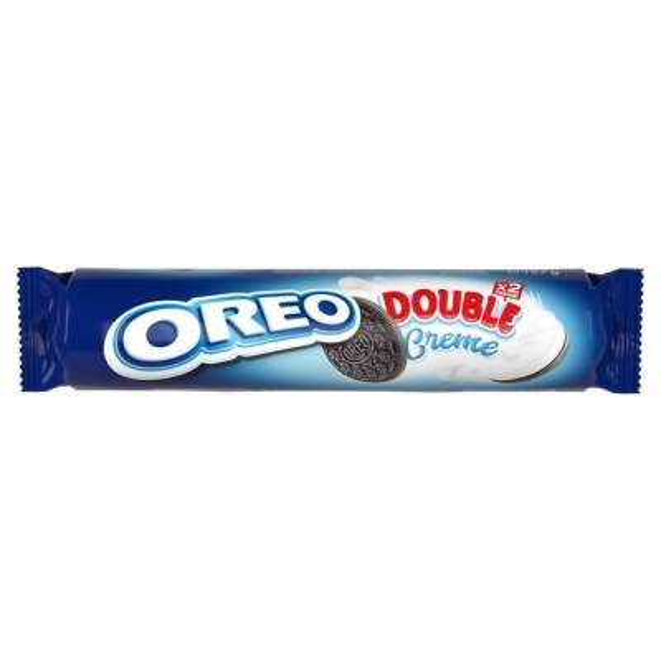 OREO DOUBLE CREME, 185 GR
