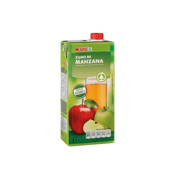 ZUMO DE MANZANA 1L SPAR