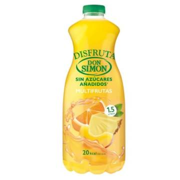 MULTIFRUIT NECTAR WITHOUT ADDED SUGAR 1,5L DON SIMON