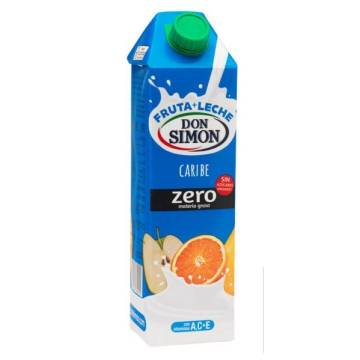 FRUIT MILK CARIBBEAN ZERO FAT 1L DON SIMON