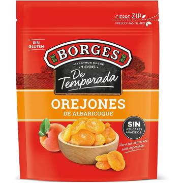 DRIED APRICOTS 200G BORGES