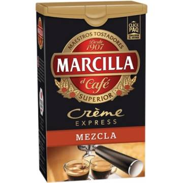 GROUND MIXED COFFEE CRÈME EXPRESS 250G MARCILLA