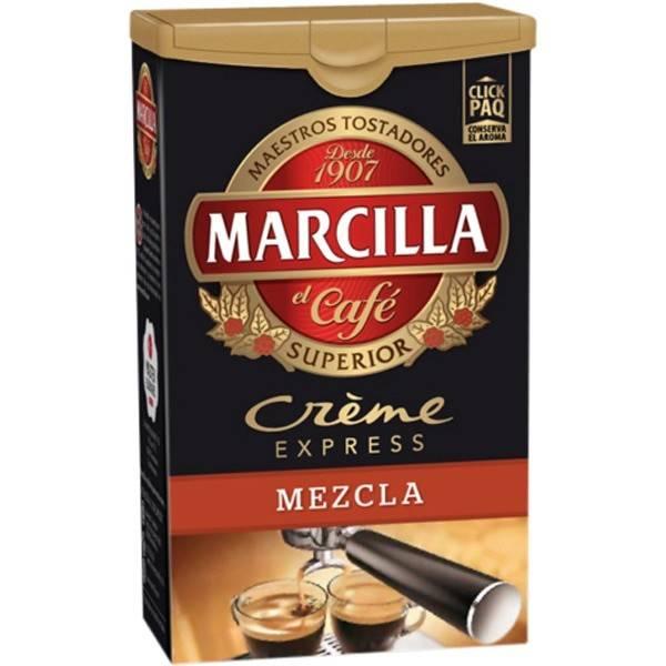 CAFÉ MOLIDO MEZCLA CRÈME EXPRESS 250G MARCILLA