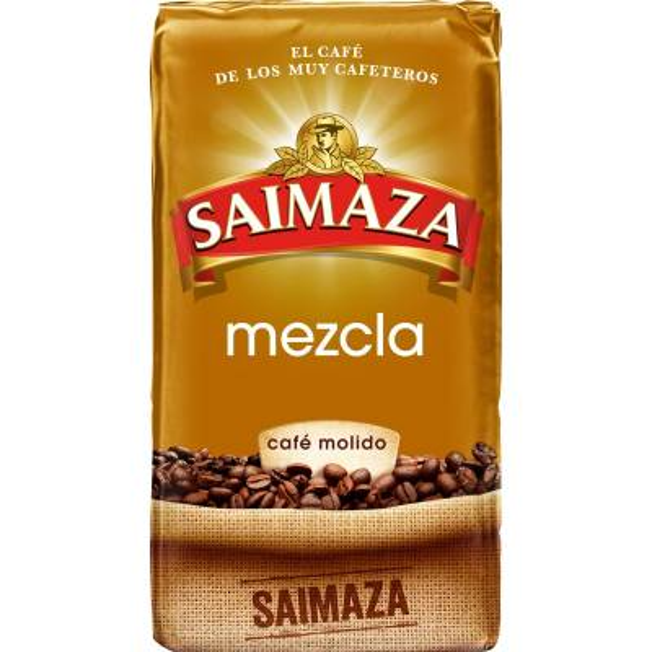 GEMAHLENER BLEND-KAFFEE 250G SAIMAZA