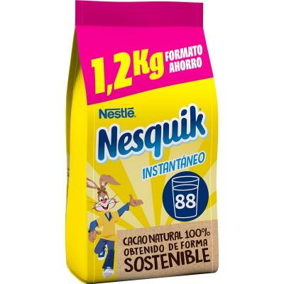 NESQUIK CHOCOLATE POWDER BAG 1.2KG NESTLÉ