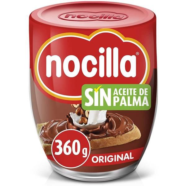 CREMA DE CACAO CON AVELLANAS ORIGINAL 360G NOCILLA