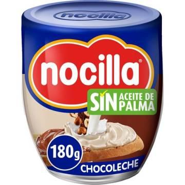 COCOA CREAM WIT HAZELNUTS CHOCOMILK 180G NOCILLA