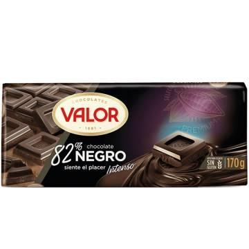CHOCOLAT NOIR 82% 170G VALOR