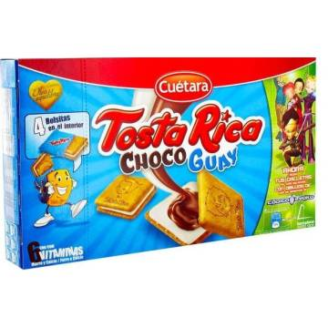 """KEKSE TOSTA RICA CHOCO GUAY """"CUÉTARA"""" (168 G)"""